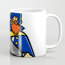 Swashbuckler Ice Hockey Sports Mascot Coffee Mug