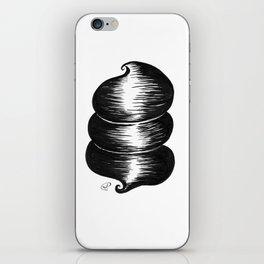 ceci n'est pas une coiffe iPhone Skin