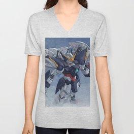 Gundam wing Zero cut ver. Unisex V-Neck