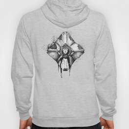 Decaying Ghost Shell Hoody