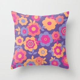 Eilin's Spring Flowers 12 Throw Pillow