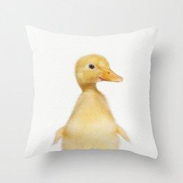 Hello Ducky Throw Pillow