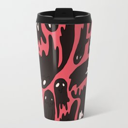 Pink Ghosties Travel Mug