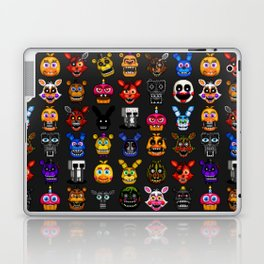 FNAF pixel art Laptop & iPad Skin