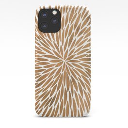 Rose Gold Burst iPhone Case