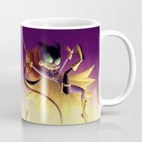batgirl Mugs featuring Batgirl by Eileen Marie Art