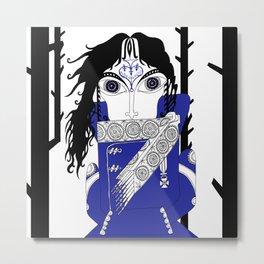 The Queen of Spades - Herman Metal Print