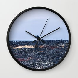 Lonely Painter Wall Clock