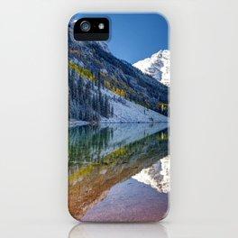 Maroon Bells Colorado iPhone Case