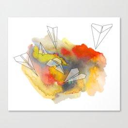 Sunplanes Canvas Print