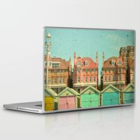 cassia beck Laptop & iPad Skins featuring Promenade by Cassia Beck