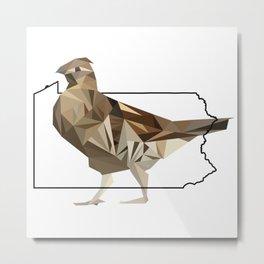 Pennsylvania – Ruffed Grouse Metal Print