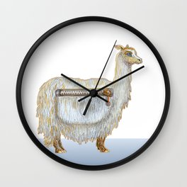 Pack Alpaca Wall Clock