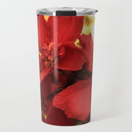 """Flowers in Your Hair"" Travel Mug"