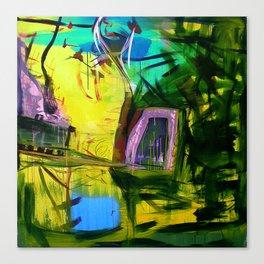 chew chew Canvas Print