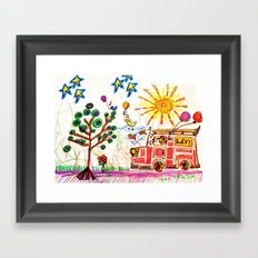 :: A Day in the Life :: Framed Art Print