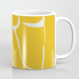The nude in yellow Coffee Mug