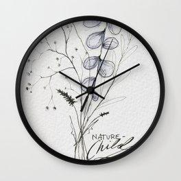 Nature Child Wall Clock