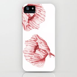 the neighbour's poppy - red iPhone Case