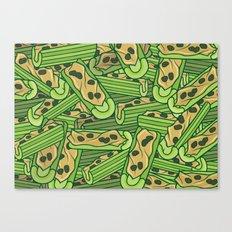 Celery & Peanut Butter Canvas Print