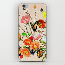 Butterfly Bouquet  iPhone Skin