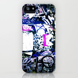 Bathroom Graffiti iPhone Case