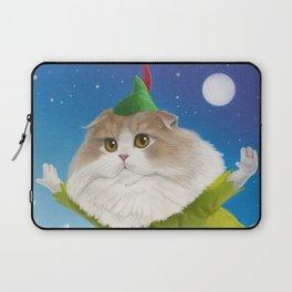 Peter Pan Cat Laptop Sleeve
