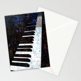 Piano Modern art Stationery Cards