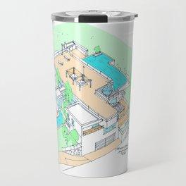 house by tereza del pilar Travel Mug