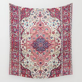 Bakhtiari West Central Persian Rug Print Wall Tapestry