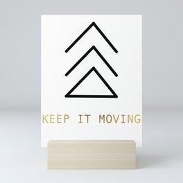 Moving Forward Mini Art Print