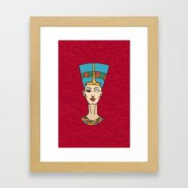 Dat Queen Though Framed Art Print