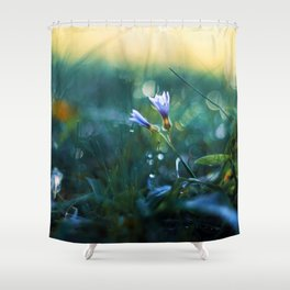 Submerge to a Voyage Shower Curtain