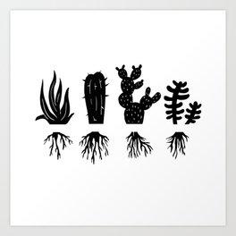 PLANT LOVERS Art Print