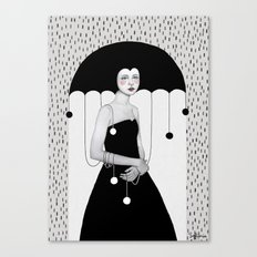 Rainy Minta Canvas Print