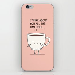 thinking of you... iPhone Skin