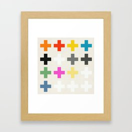 Crosses II Framed Art Print