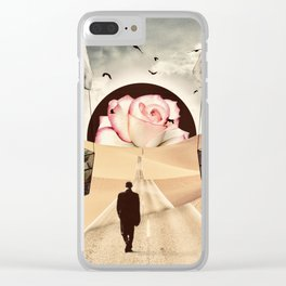 The Road to Nowhere Clear iPhone Case