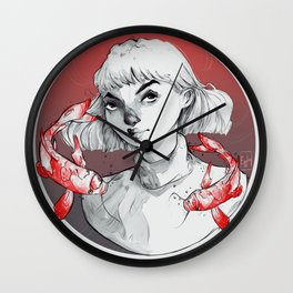 Don't be Koi Wall Clock