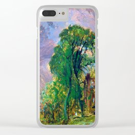 John Constable View of Hampstead Clear iPhone Case