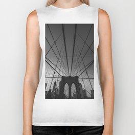 brooklyn bridge Biker Tank