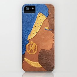Sigma Gamma Rho Sister In Profile II iPhone Case