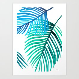 Palms nr 1 Art Print