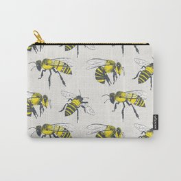 Bees Carry-All Pouch