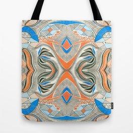 Clowning Around 3 Symmetrical design Tote Bag