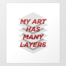 Art Snob Art Print