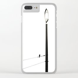 CONTEMPLATE Clear iPhone Case