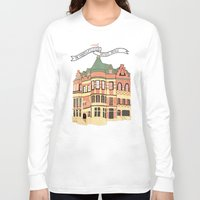 archer Long Sleeve T-shirts featuring Archer Avenue by Nan Lawson