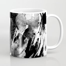 Drilling for that black gold in our oceans, black wave Coffee Mug