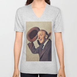Jimmy Durante, Actor and Comedian Unisex V-Neck